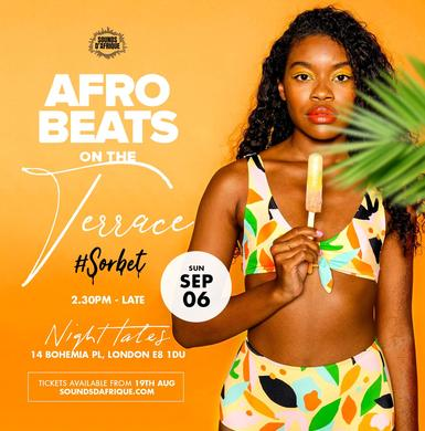 Afrobeats on the Terrace #Sorbet