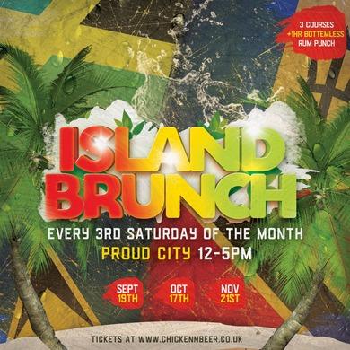 Island Brunch w/ Bottomless Rum Punch