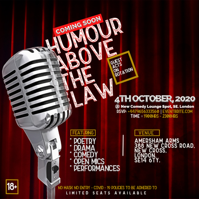 Humour Above The Law - Comedy Series