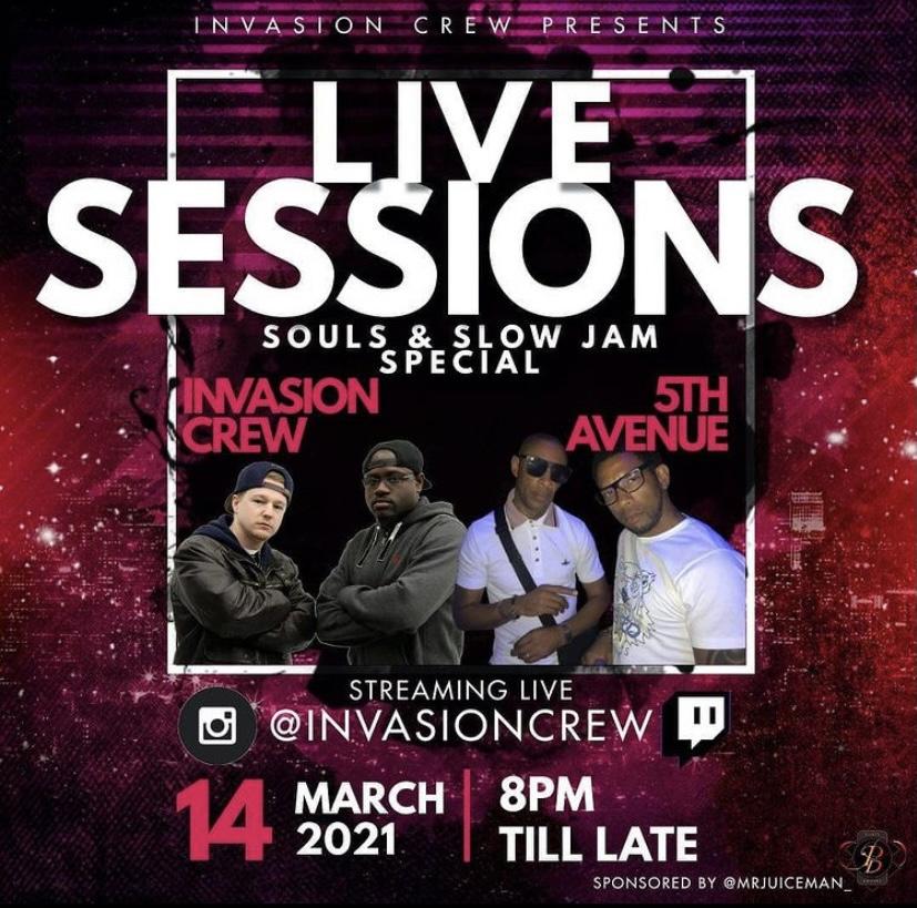 Invasion Crew Lockdown Live Sessions