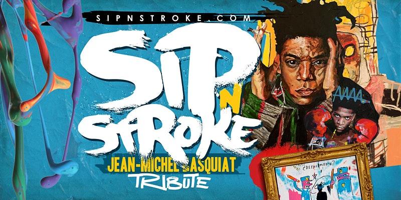 SIP 'N STROKE - Sip and Paint
