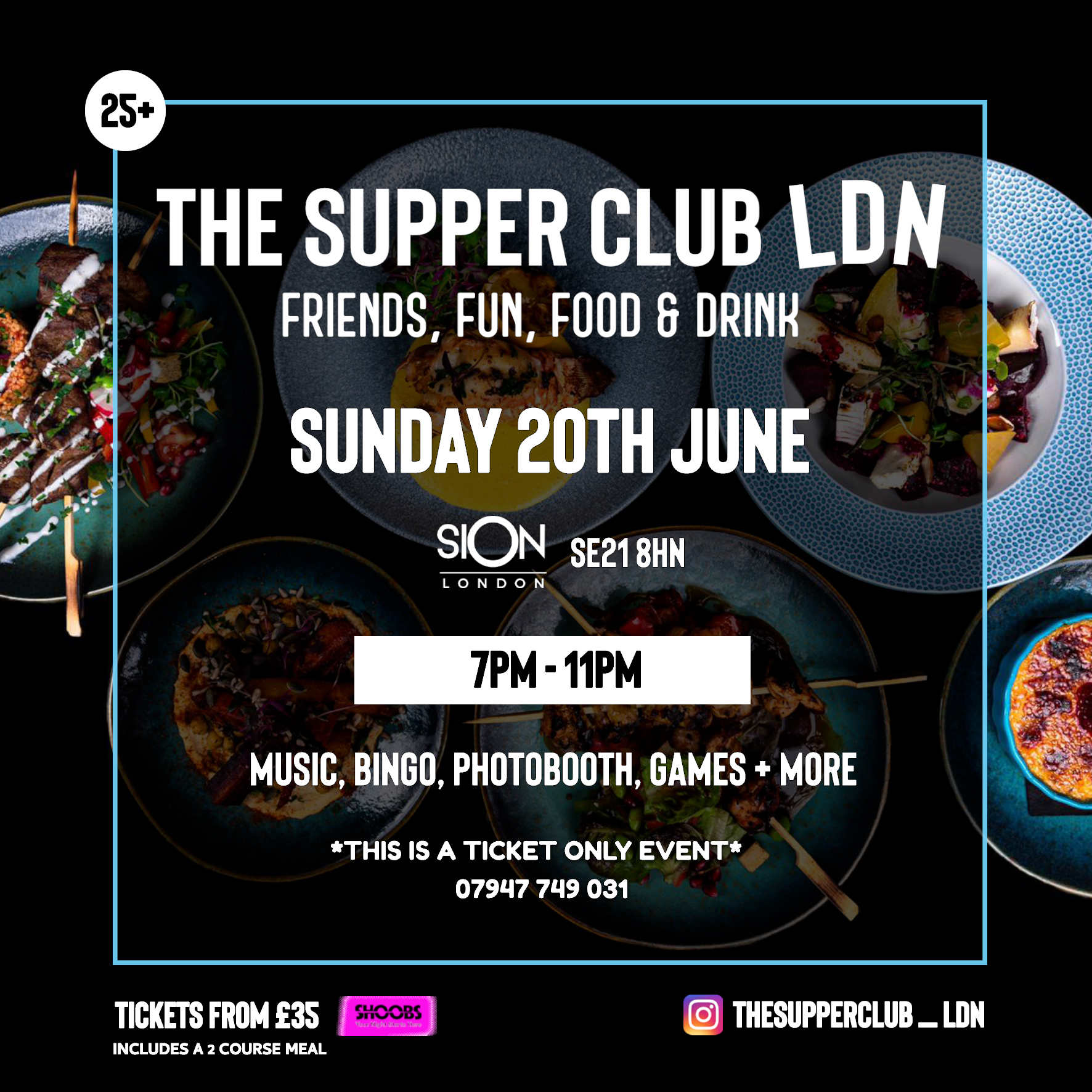 The SupperClub LDN - Sun JUNE 20TH (7pm-11pm)