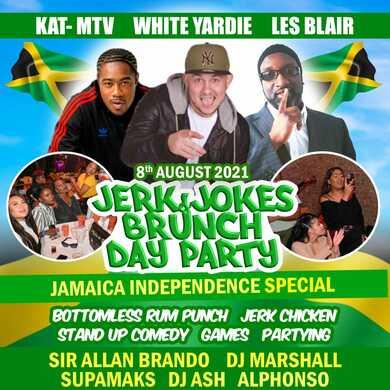 JERK & JOKES BRUNCH JAMAICA INDEPENDENCE 2021