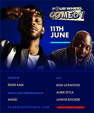 Four Wheel Comedy 2021 With RnB Artist Angel
