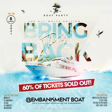 (BOAT PARTY) BRING BACK THE 90s 2