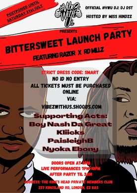 Bittersweet launch party