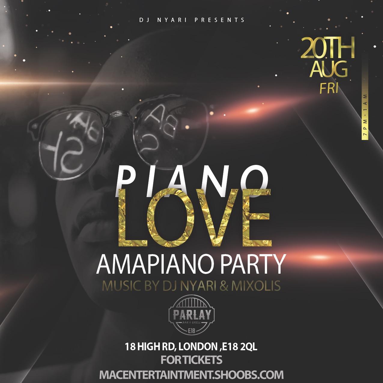 PIANO LOVE - AMAPIANO PARTY