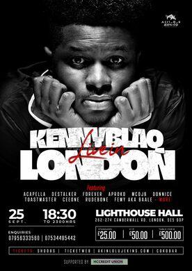 HOME SICK w/ KennyBlaq Live In London