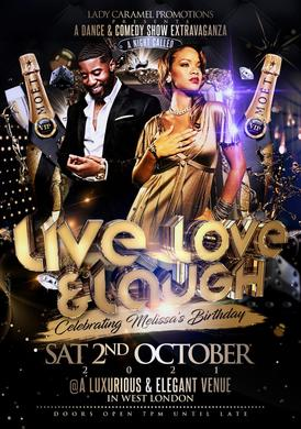 Live, Love and Laugh Extravaganza