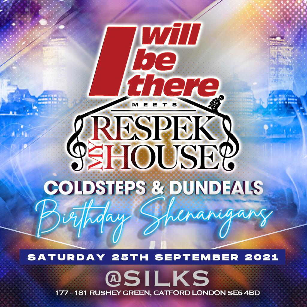 I WILL BE THERE meets RESPEK MY HOUSE