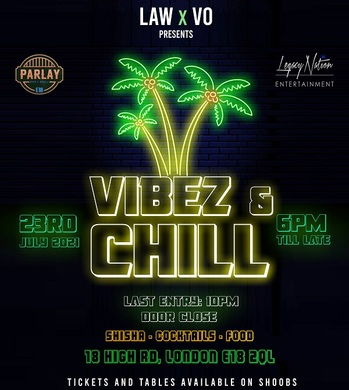 """VIBEZ & CHILL / """"WE OUTSIDE"""" HOT SUMMER EDITION 2"""