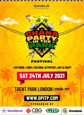 Ghana Party in The Park - Festival