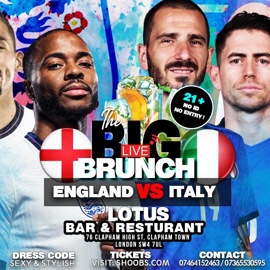 THE BIG BRUNCH - EURO 2020 FINAL LIVE!!