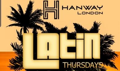 Latin Reggaeton Thursday