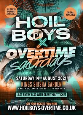 Hoil Boys X Overtime Saturdays