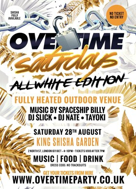 Overtime Saturdays  All White Edition!