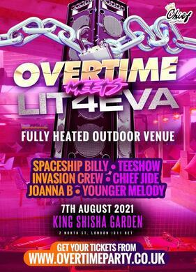Overtime Saturdays  Meets Lit4EVA