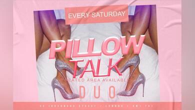 Pillow Talk Saturdays