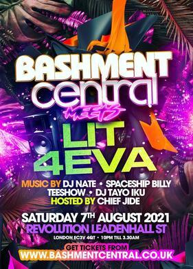 Bashment Central MEETS LIT4VA