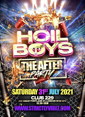 Hoil Boys The After Party