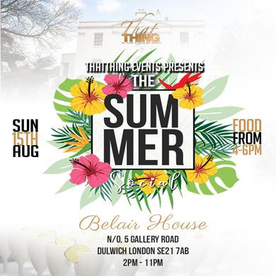 ThatThing The Summer Social SUN 15TH AUG 2021