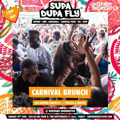 Supa Dupa Fly x Carnival Bottomless Brunch