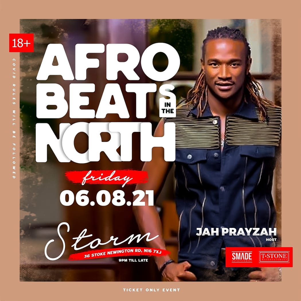 AfroBeats In The North AUG 06 - SMADEFridays