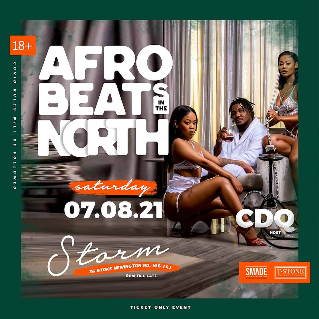 AfroBeats In The North AUG 07 - SMADESaturdays