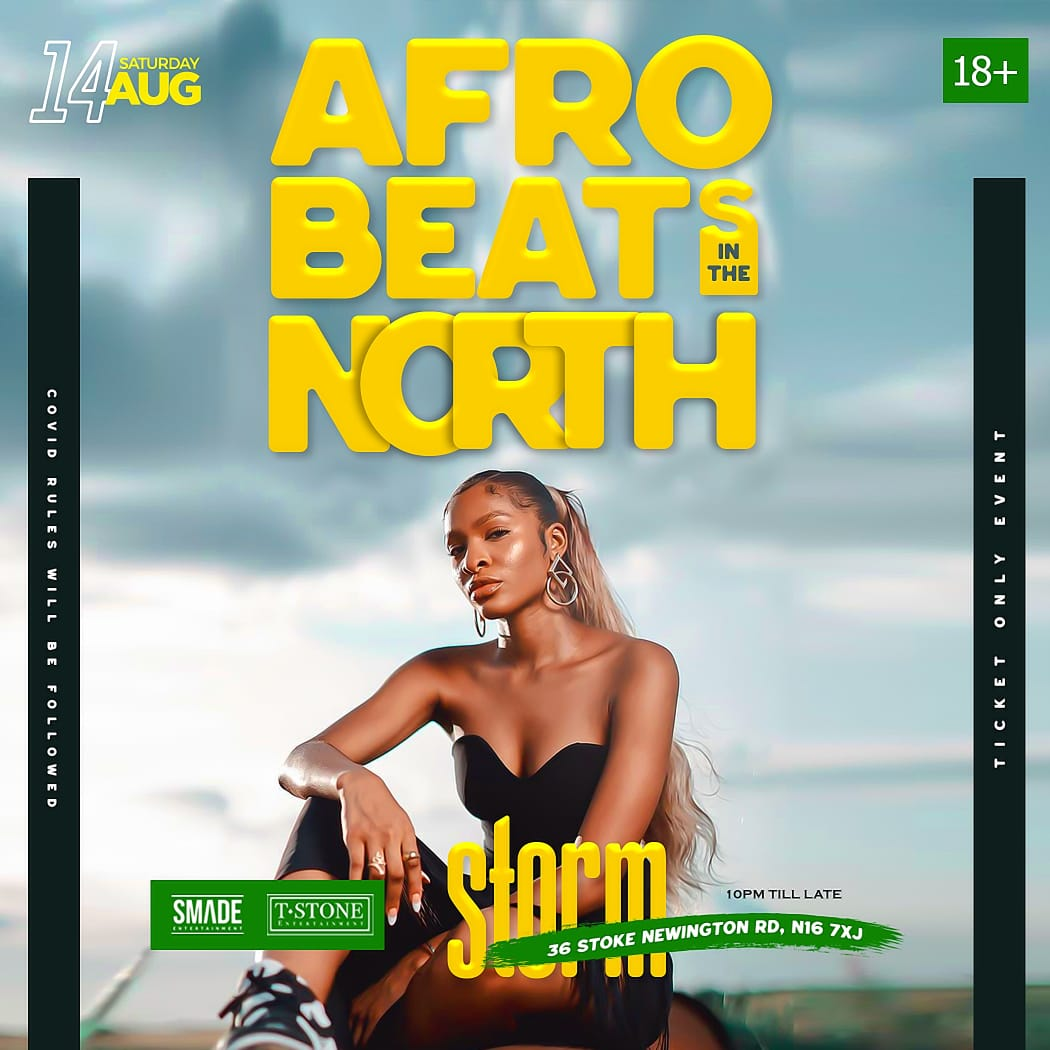 AfroBeats In The North AUG 14 - SMADESaturdays