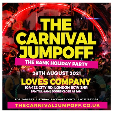 The Carnival Jumpoff - The Bank Holiday Party
