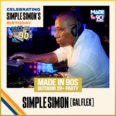 Made In 90s | Outdoor 28+ PARTY | Simple Simon Birthday Celebration