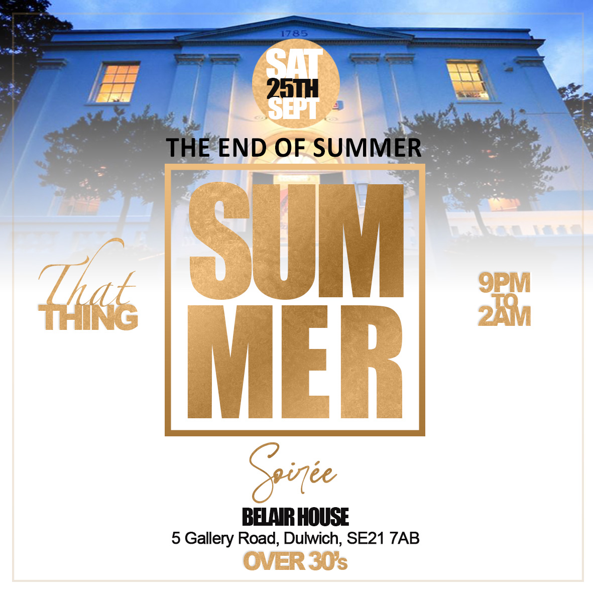 ThatThing The End Of Summer Soiree