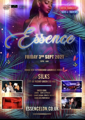 Essence 350+ TICKETS SOLD