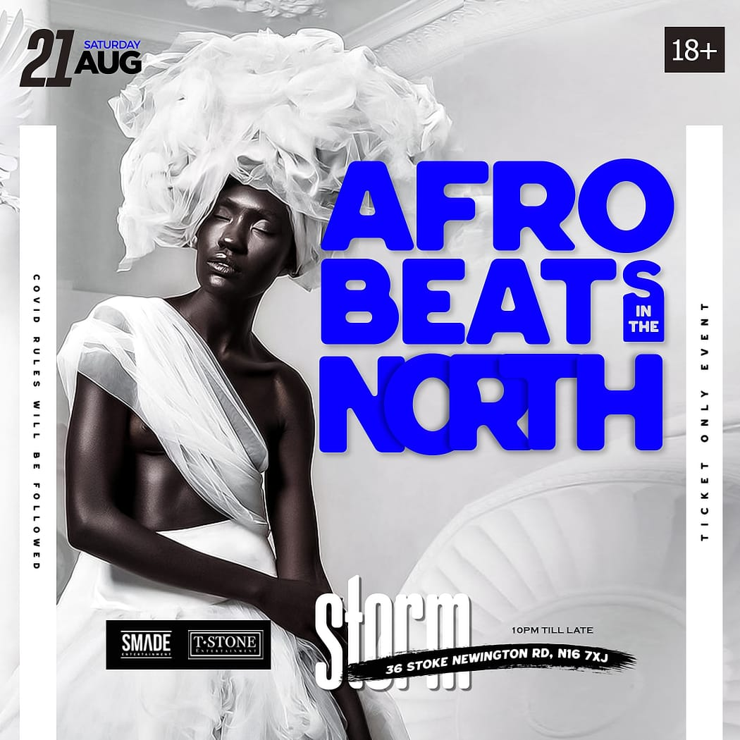 AfroBeats In The North AUG 21 - SMADESaturdays