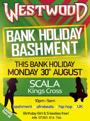 Tim Westwood Bank Holiday Monday