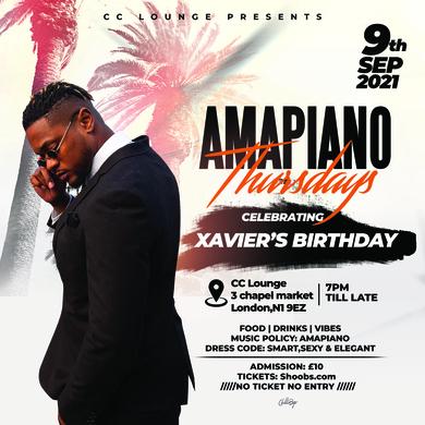 Amapiano Thursdays  6 Xavier's Birthday Party