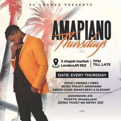 Amapiano Thursdays  5