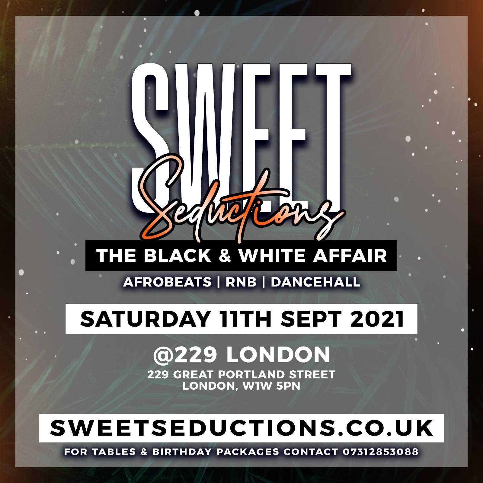 Sweet Seductions The Black & White Affair