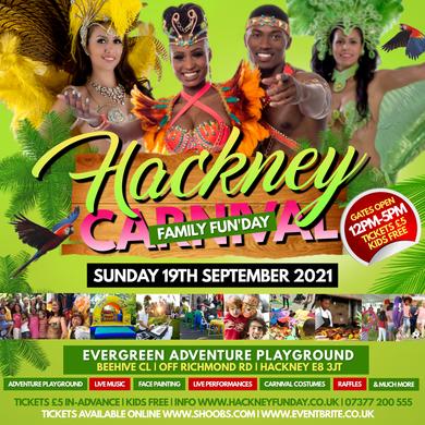 HACKNEY FAMILY FUNDAY | THE HACKNEY CARNIVAL EDITION (12 NOON - 5PM)