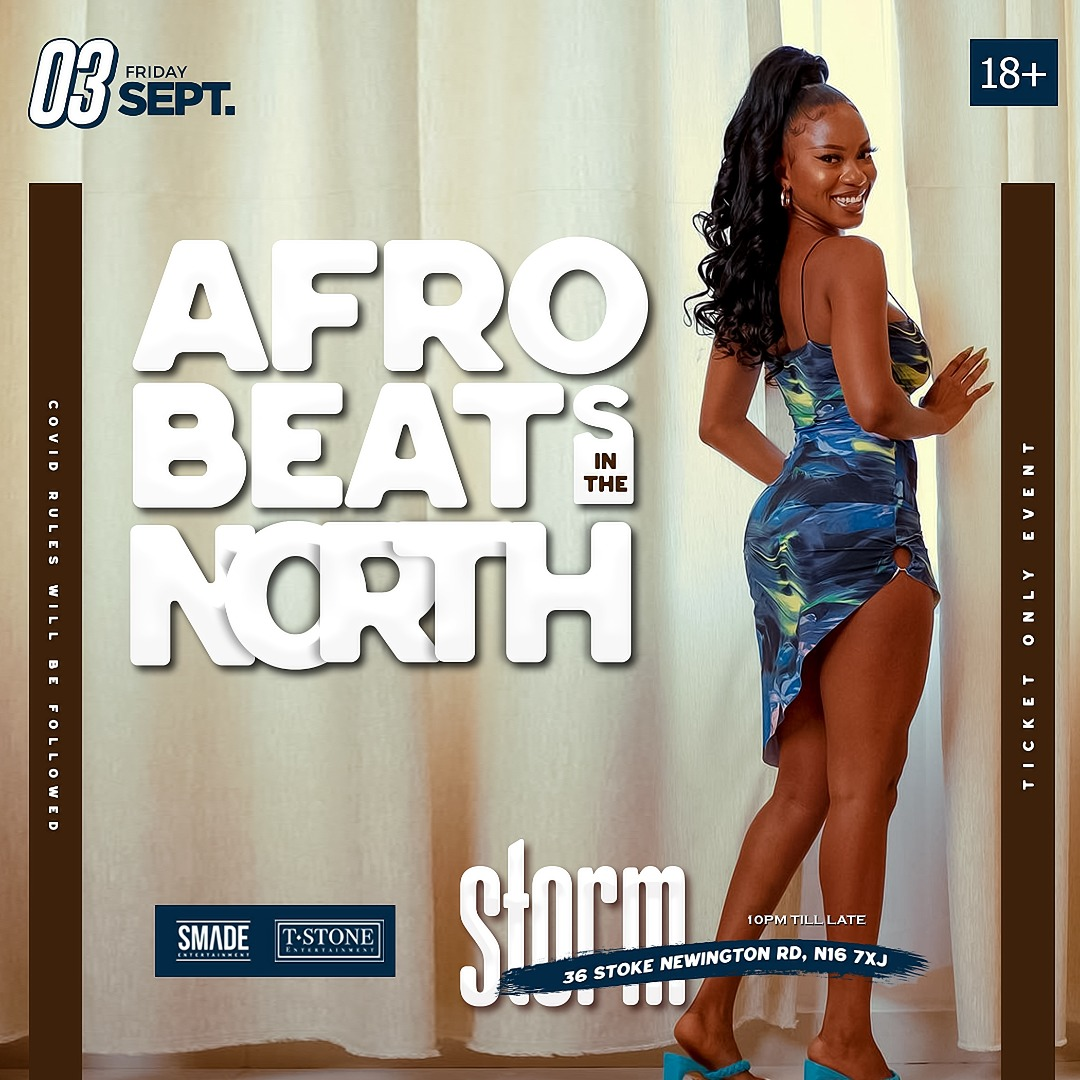 AfroBeats In The North SEP 03 #SMADEFridays