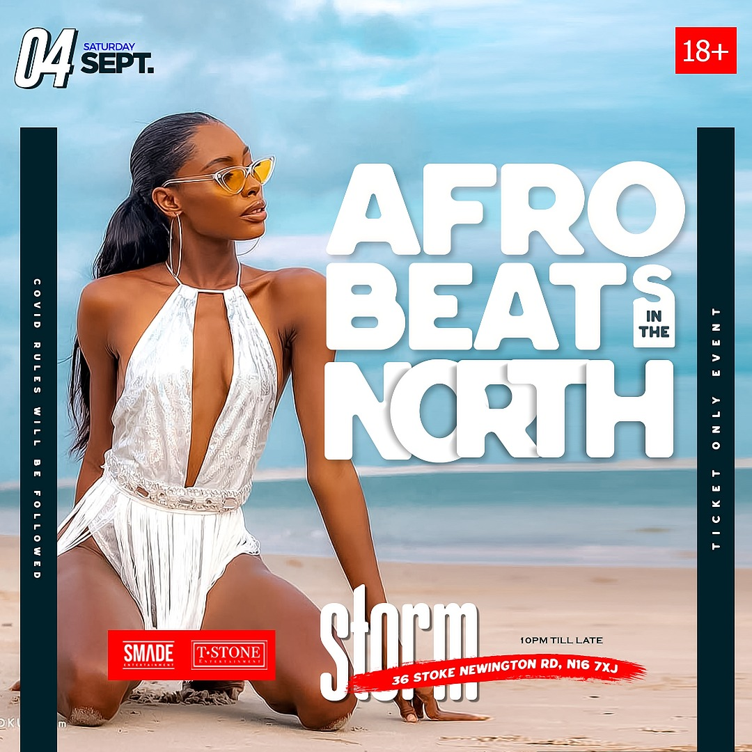 AfroBeats In The North SEP 03 #SMADESaturdays
