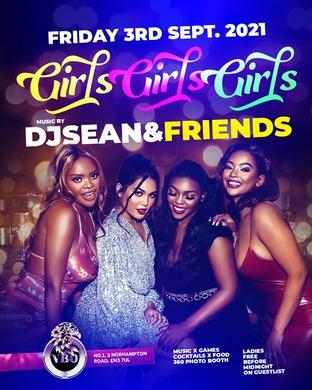 TGIF (GIRLS GIRLS GIRLS) FREE B4 MIDNIGHT