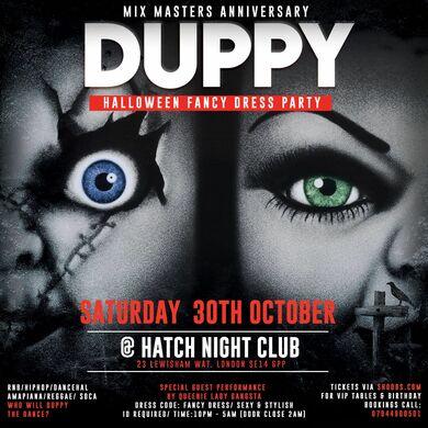 DUPPY - Halloween Fancy Dress Party
