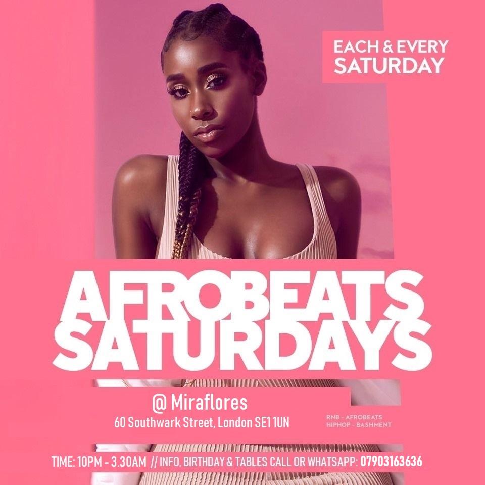Afrobeats Saturdays