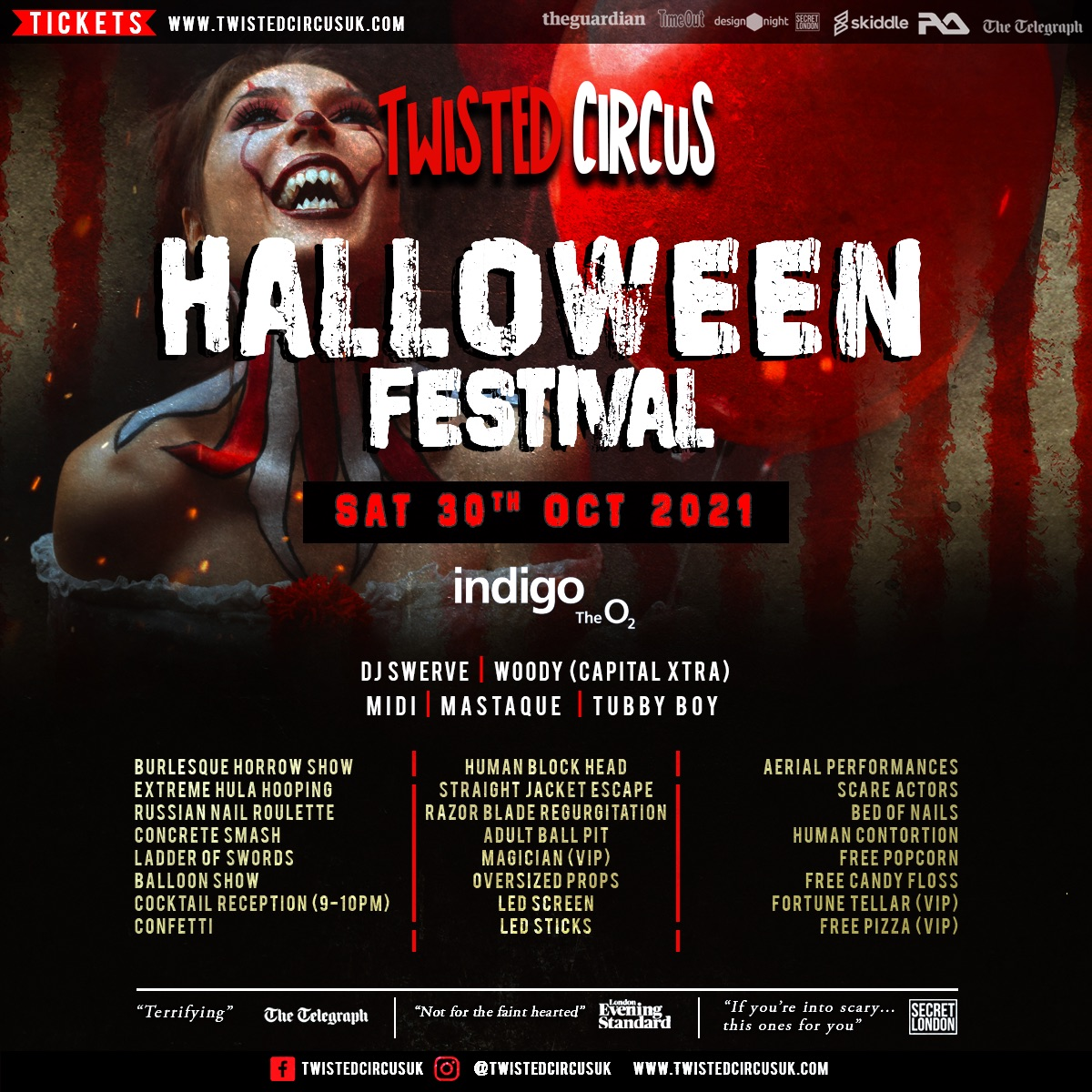 Twisted Circus Halloween Festival 2021