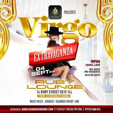 Ruby Lounge Saturdays - Virgo Extravaganza