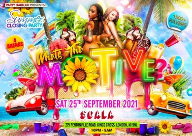 What's The Motive - Summer Closing Party