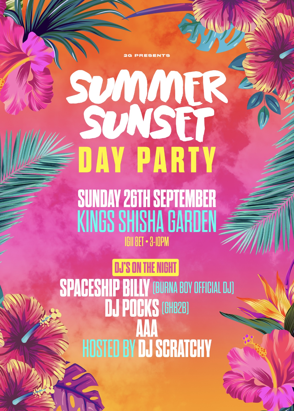 Summer Sunset Day Party