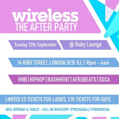 Wireless - The AfterParty