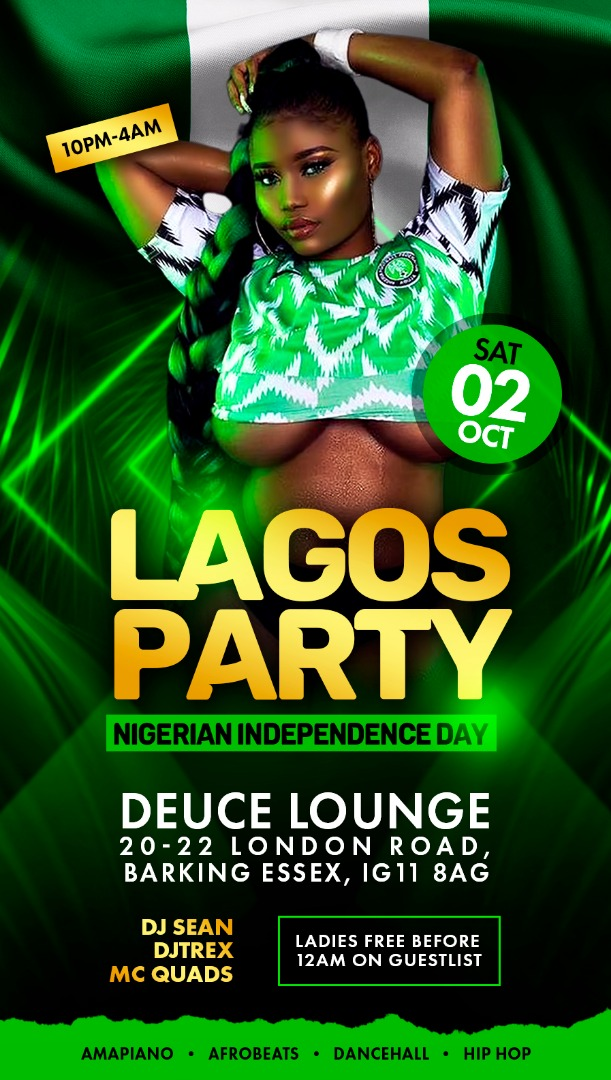 """LAGOS PARTY """" NIGERIAN INDEPENDENCE DANCE"""""""